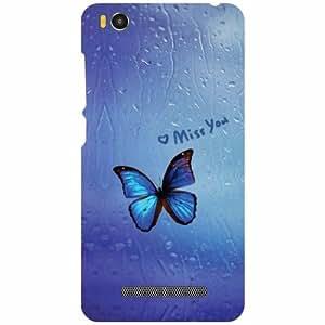 Printland Xiaomi Mi4i MZB4300IN Back Cover