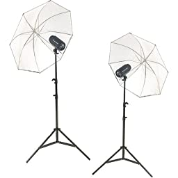 Flashpoint Budget Studio Monolight Flash, 300 Watt Seconds - Portrait Kit