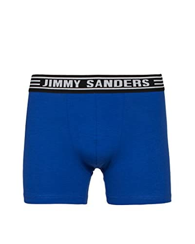 Jimmy Sanders 3tlg. Set Boxershorts schwarz/weiß/blau