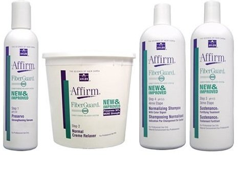 Avlon Affirm FiberGuard Creme Relaxer Resistant Kit