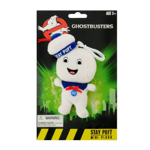 Ghostbusters GB03691  - Mini Clip-On Peluche Musicale Stay Puft Happy