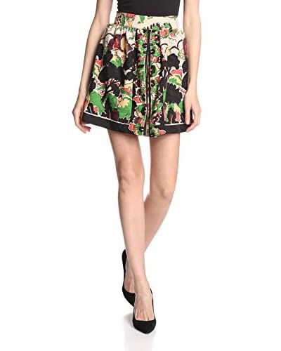Anna Sui Women's Garden Border Skirt
