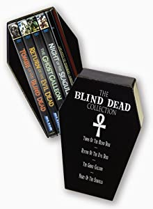 The Blind Dead Collection (Tombs of the Blind Dead / Return of the Evil Dead / The Ghost Galleon / Night of the Seagulls / Amando De Ossorio- Director)