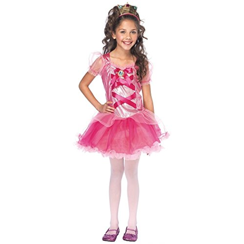 GSG Princess Peach Costume Kids Halloween Fancy Dress (Princess Peach Costume Toddler)