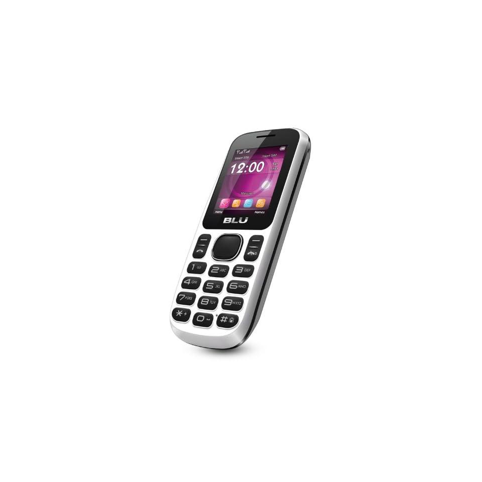 BLU T172i Jenny Unlocked Phone   US Warranty   White