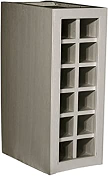 Kitchen Units Kitchen Base Unit 300mm Wine Rack for 12 bottles Doors with Tongue and Groove Backboards Solid Wood VL5091