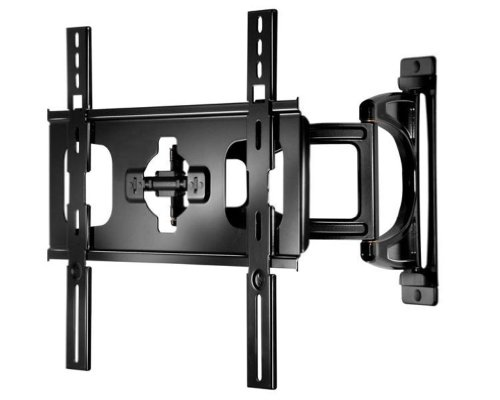Peerless Sua746Pu Ultra-Slim Full-Motion Plus Wall Mount For 32-50-Inch Ultra-Thin Screens Weighing Up To 60 Lb - Gloss Black