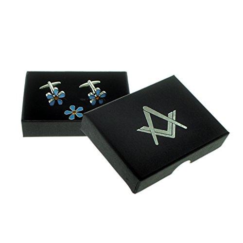 Masonic no G Set non ti scordar di me con cristalli Gemelli e Spilla