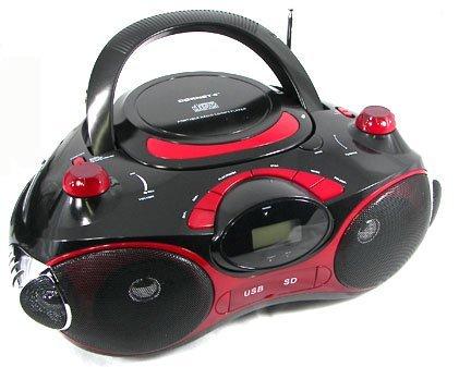 Cornet BH-426 Portable CD/ MP3 Player with USB/ SD