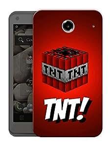 "Tnt Mine Craft Printed Designer Mobile Back Cover For ""Lenovo S880"" By Humor Gang (3D, Matte Finish, Premium Quality, Protective Snap On Slim Hard Phone Case, Multi Color)"