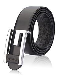 Demon&Hunter Casual Series Men's Belt DH280B(Black)