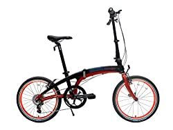 Dahon Vector P8 Red/Black Folding Bike Bicycle from Dahon