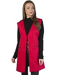Bonhomie Women Jacket [BCQS022_Red_Small]