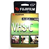 2 FujiFilm Video TC-30 VHS-C Premium Quality Videocassette VHS Camcorder Cassette