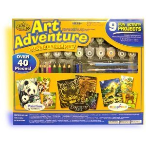 Royal & Langnickel Art Adventure Super Value - 40 Piece Orange Set