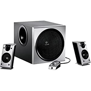 41QPWH9EWWL. SL500 AA300  Logitech Z 2300 THX Certified 2.1 Speaker System with Subwoofer   $80