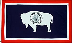 New Large 3x5 Wyoming State Flag US USA American Flags