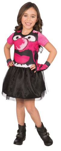Muppet Girls 4-6 Dress-Up Costume Tutu Set, Animal