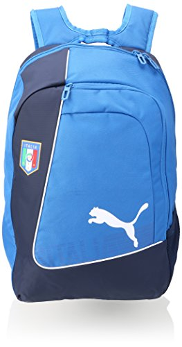 PUMA zaino Italia ultima Football Backpack, Team potenza Blue/Navy/White, taglia unica, 074012 01