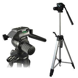 Camcorder Stativ Video Kamerastativ 65-164cm P1 für Panasonic HC-V100