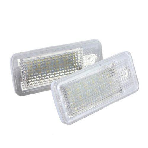 Maxsale Pair 18 Led License Plate Lights For Audi A3 S3 A4 B6 B7 A6 S6 Q7