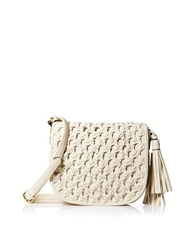 Big Buddha Women's Edith Crocheted Flap Cross-Body, Bone