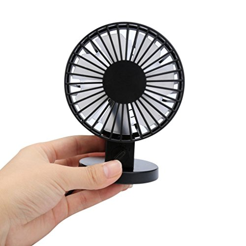 BESSKY Portable Mini Air Conditioner Cooler Fan (Black) (Thin Window Air Conditioner compare prices)