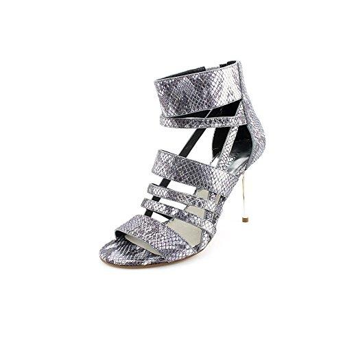 Kors Michael Kors Shiloh Womens Size 8 Silver Dress Sandals Shoes