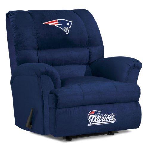 NFL New England Patriots Big Daddy Microfiber Recliner