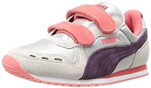 PUMA Cabana Racer NM V Sneaker (Toddler/Little Kid/Big Kid),Gray Violet/Potent Purple/Dubarry,3.5 M US Big Kid