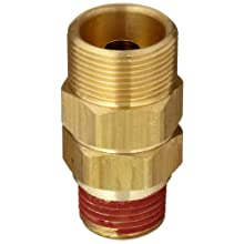 Control Devices Brass Load Genie Unloading Check Valve, 3/4&#034; Tube Comp. x 1/2&#034; MPT