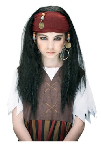 Paper Magic Group Caribbean Pirate Wig,One Size Fits Most (Paper Magic Group Costumes)