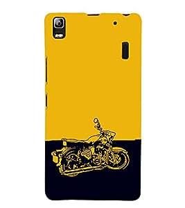EPICCASE Trendy Bike Mobile Back Case Cover For Lenovo K3 Note (Designer Case)