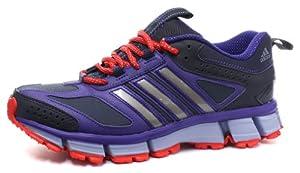 Adidas Questar Trail 2 Damen Trail Running Schuhe, Lila, Größe 36 2/3