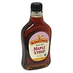 Maple Grove, Syrup Maple Drk Pure Org, 8.5 OZ (Pack of 12)