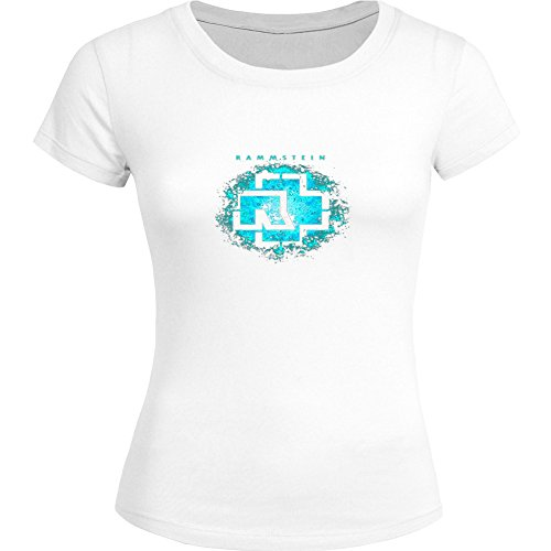 Rammstein Tops T shirts -  T-shirt - Donna White XX-Large