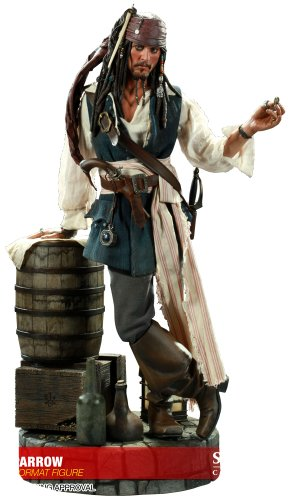 Pirates Of The Caribbean - 1/4 Scale Premium Figure: Jack Sparrow