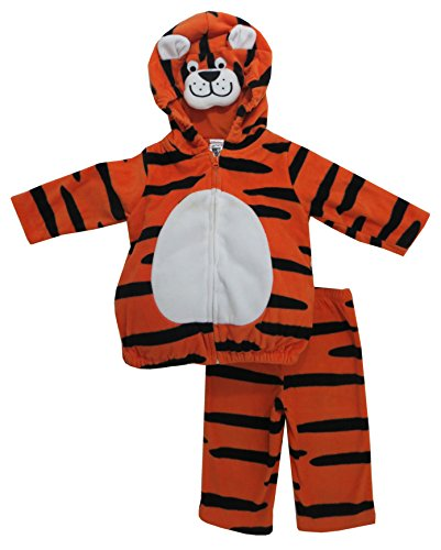 Carter'S Halloween 2 Pc Costume - Tiger-6-9 Months front-158589
