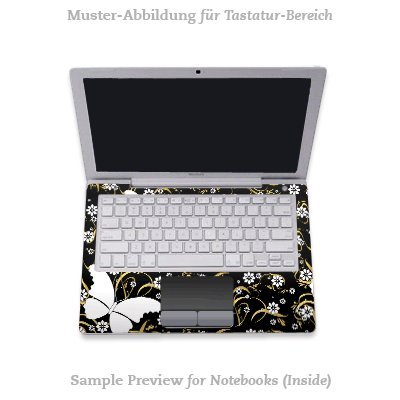 Design Skins für Medion Akoya MD 96970 Tastatur - Fly with Style Design Folie