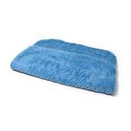 Chemical Guys MIC_321_1 Shaggy Fur-Ball Microfiber Towel, Blue( 16 in. x 16 in.)