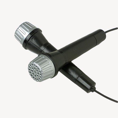 5.5 Inch Non Working Real Looking Plastic Microphone (12 Pack)