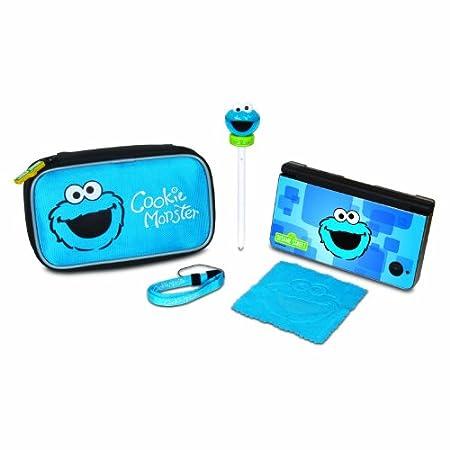 Sesame Street Cookie Monster Starter Kit - DS, DSi, DSi XL