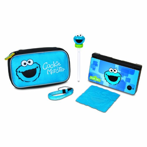 Sesame Street Cookie Monster Starter Kit - DS, DSi, DSi XL