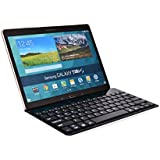 Cooper Cases(TM) GoKey Acer Iconia W3 / W4-820 / W510-1666 / W700 Smartphone/Tablet Wireless Bluetooth Keyboard in Black (Premium Aluminum Alloy Build; US English QWERTY Keyboard featuring 81 Laptop-Style keys; Built-in Stand; Wireless Bluetooth Connection; Portable, Lightweight Design)