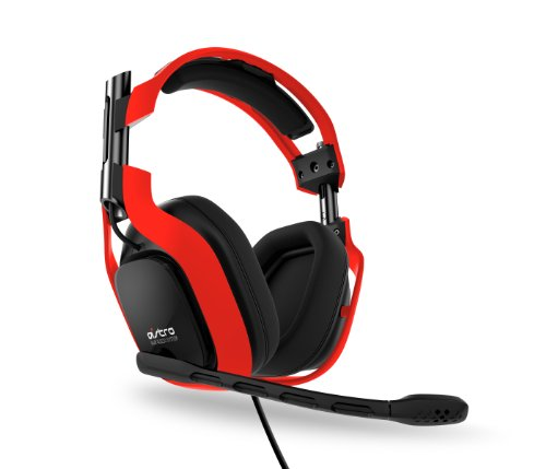 Astro Gaming Neon Color Series A40 Headset Kit (Red)