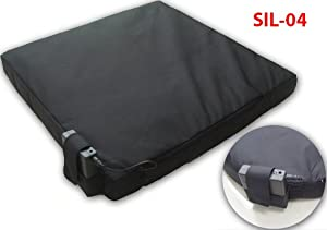 Aa Battery Powered Infrared Carbon Fiber Heated Stadium Seat Cushion by Sports Imports
