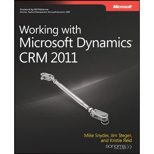 Microsoft Press-Working with Microsoft Dynamics CRM