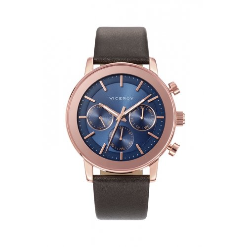 Blue Man Orologio Viceroy 47897-37 multifunzionale in pelle