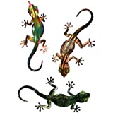 Next Innovations WA3DGECKO3 Gecko Designs Refraxions 3D Wall Art, Set of 3 (Discontinued by Manufacturer)