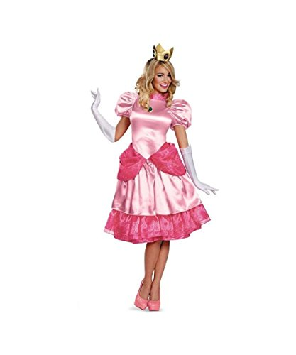 Super Mario Bros Princess Peach Womens Costume Plus size